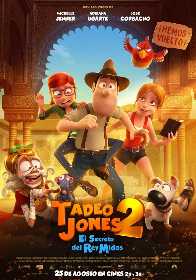 Tadeo Jones 2: El secreto del Rey Midas
