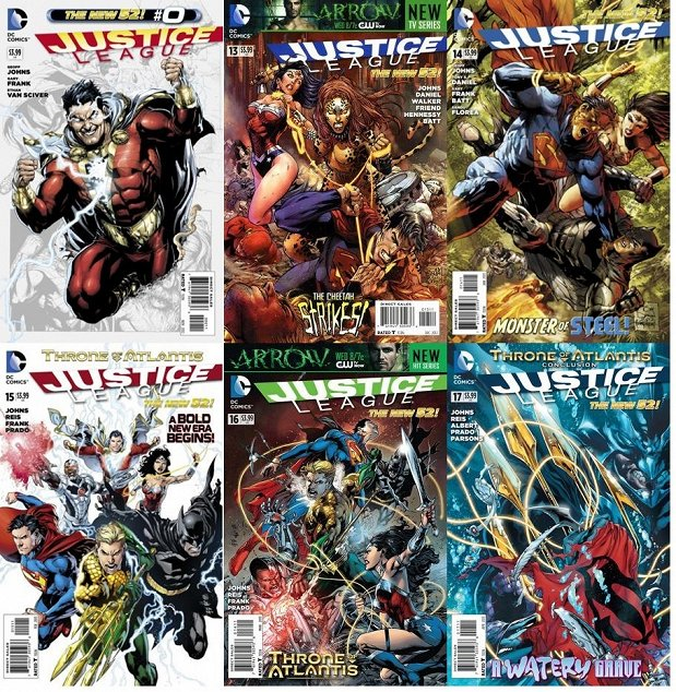 The New 52: Justice League Vol 2